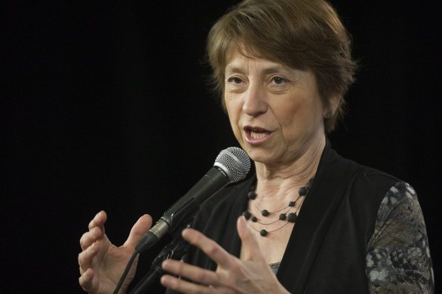 Françoise David... (Photo La Presse Canadienne)