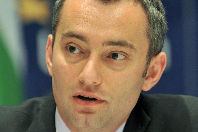 Nickolay Mladnov, envoyé spécial de l'ONU en Irak.... (Photo archives AFP)