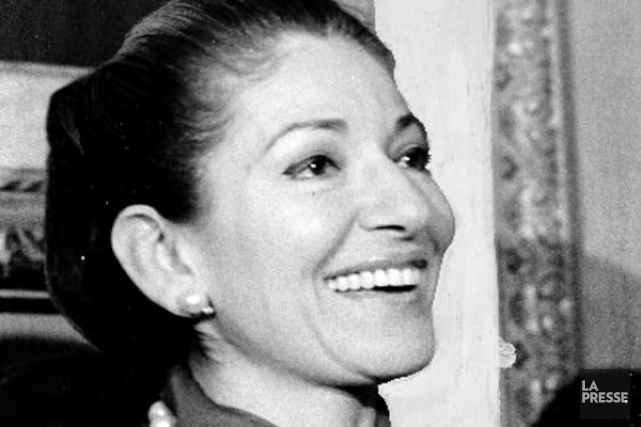 Maria Callas en 1974.... (Photo: Pierre McCann, archives La Presse)