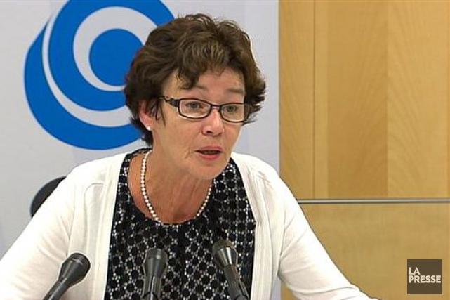 La présidente de laCSQ, Louise Chabot, a rappelé... (PHOTO ARCHIVES, LA PRESSE)