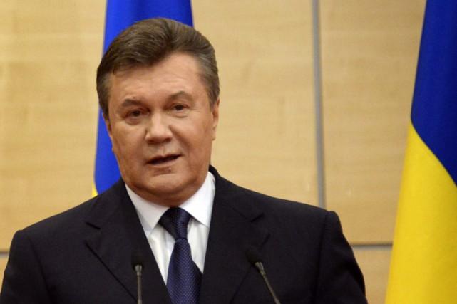 Viktor Ianoukovitch... (Photo: AFP)