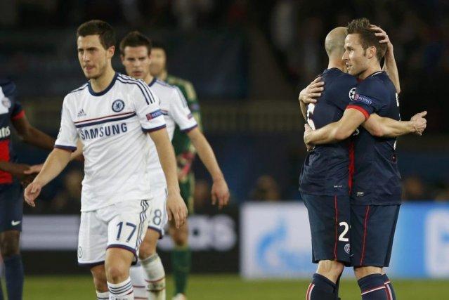 Le Paris SG, qui a surpris Chelsea (3-1), et le Real Madrid, qui a dominé le... (Photo: Reuters)