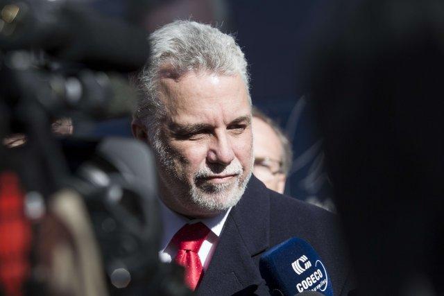 À cinq jours du scrutin, le Québec semble en voie d'élire un gouvernement... (Photo Francois Laplante Delagrave, AFP)