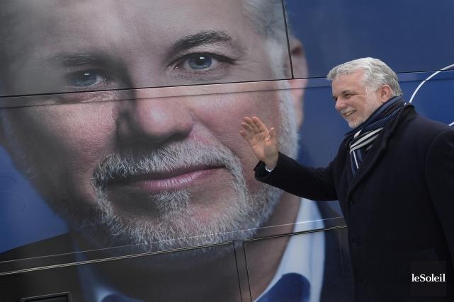 Le chef du Parti libéral, Philippe Couillard... (Photo Jean-Marie Villeneuve, Le Soleil)