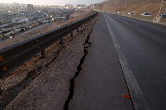 Un premier séisme de magnitude 8,2 avait provoqué... (Photo Reuters)