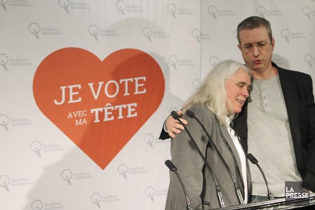 Dan Bigras milite activement pour la candidate de... (Photo: Martin Chamberland, La Presse)