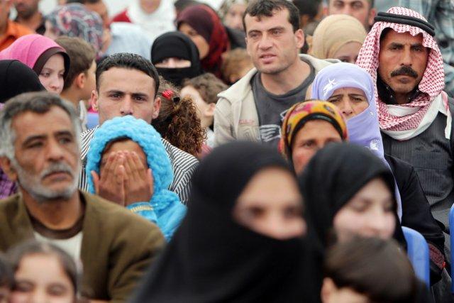 Les réfugiés syriens enregistrés au Liban ont dépassé... (PHOTO JOSEPH EID, AFP)