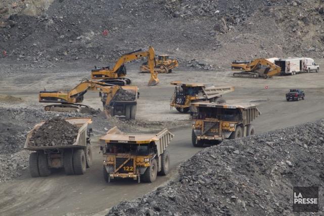La mine Osisko, près de Malartic.... (Photo Ivanoh Demers, archives La Presse)