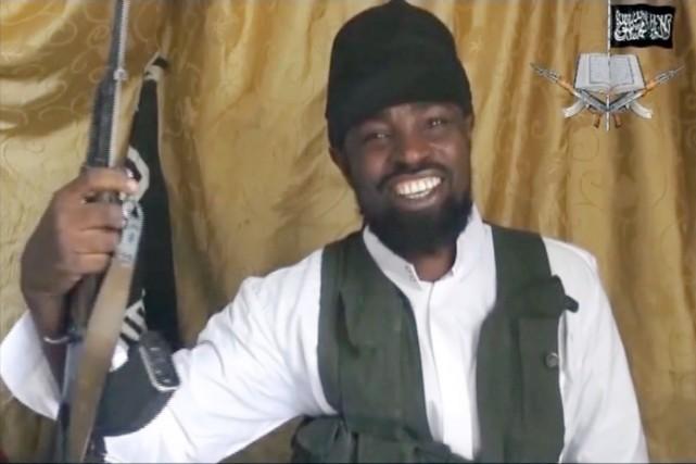 Le chef de Boko Haram, Abubakar Shekau, semble avoir peu de contrôle sur les... (IMAGE ARCHIVES AFP/BOKO HARAM)