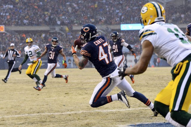 Chris Conte (47)... (Photo Mike Dinovo, USA Today Sports)