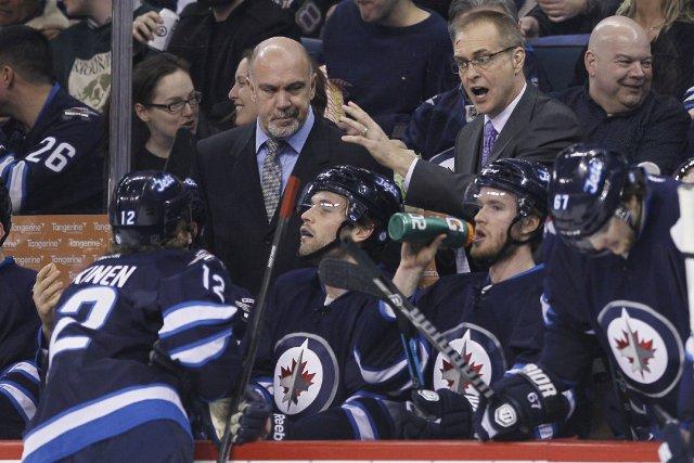 Les Penguins de Pittsburgh ont éliminé les Jets de Winnipeg de la course aux... (Photo JOHN WOODS, PC)