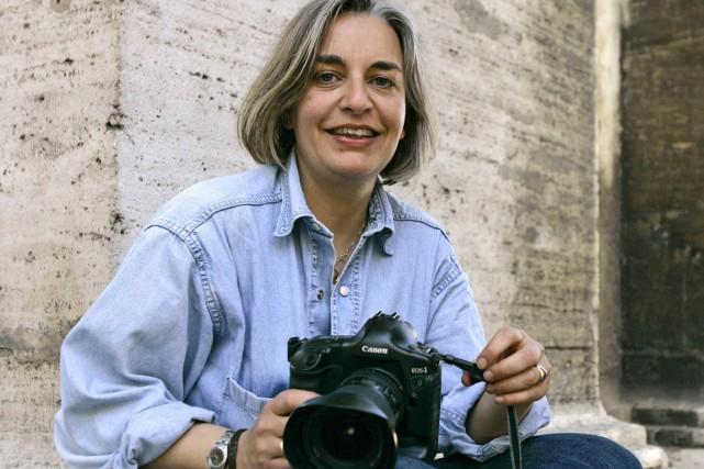 La photographe allemande Anja Niedringhaus a été tuée... (PHOTO PETER DEJONG, ARCHIVES AP)