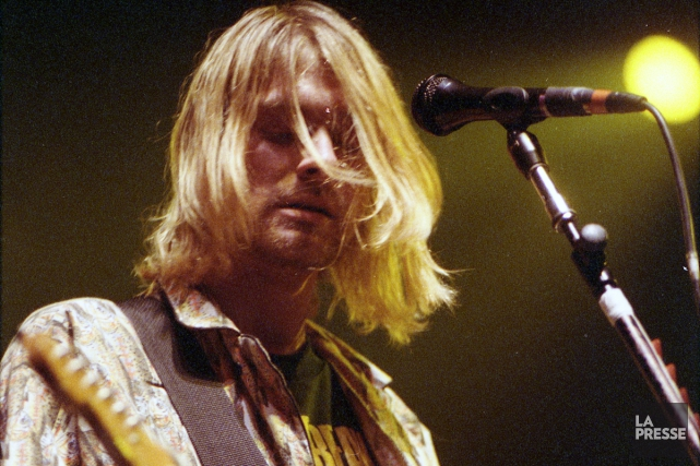 Kurt Cobain en spectacle à l'Auditorium de Verdun... (Photo: Denis Courville, archives La Presse)