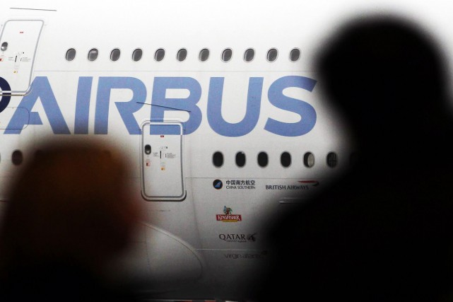 Airbus Group (EADSY) a publié mercredi un bénéfice net en... (Photo Regis Duvignau, archives Reuters)