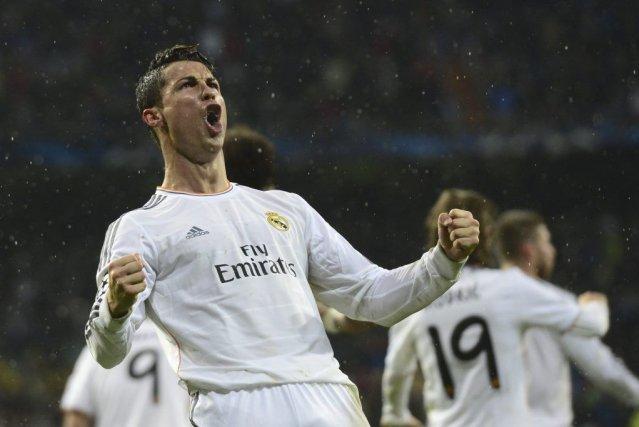 Cristiano Ronaldo a marqué un but face au... (PHOTO JAVIER SORIANO, AFP)