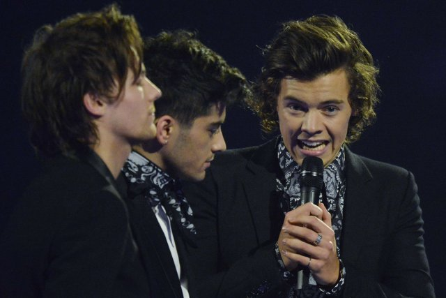 Le groupe anglo-irlandais One Direction, comme de nombreux... (Photo: archives Reuters)