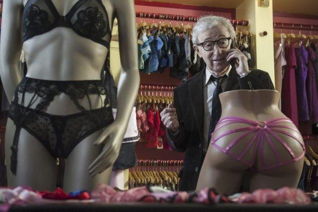 Woody Allen dans Fading Gigolo.... (Photo fournie par Mongrel / Métropole Films)