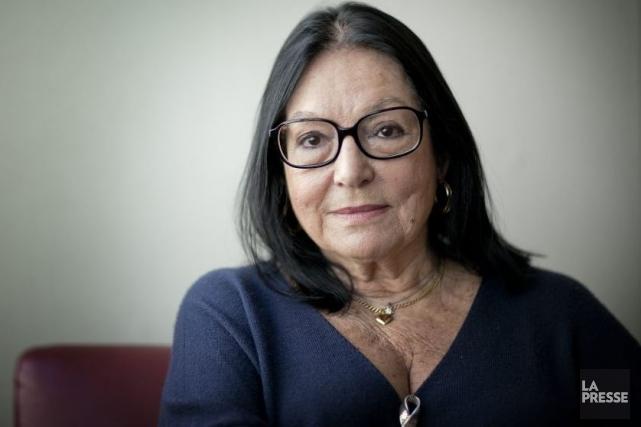 Nana Mouskouri... (Photo: Marco Campanozzi, archives La Presse)