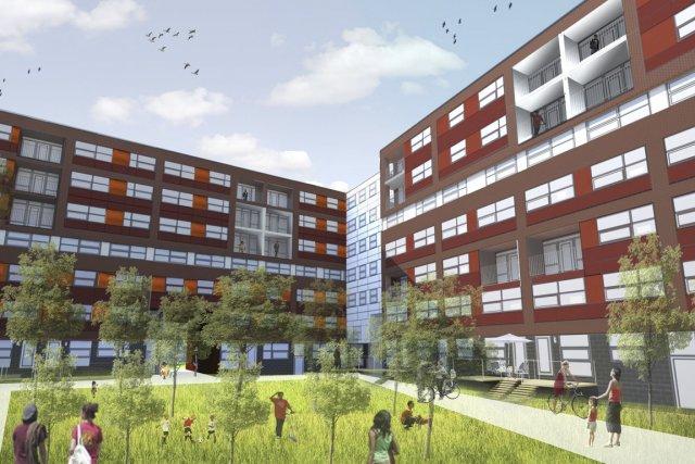 La revitalisation des Bassins du Nouveau Havre, dans... (Illustration fournie par Bâtir son quartier)