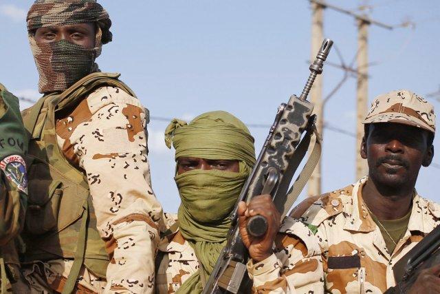 Les soldats tchadiens ont quitté Bangui, le 4... (PHOTO GORAN TOMASEVIC, REUTERS)