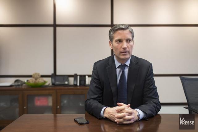 François Gratton, PDG de Telus Québec.... (PHOTO OLIVIER PONTBRIAND, LA PRESSE)