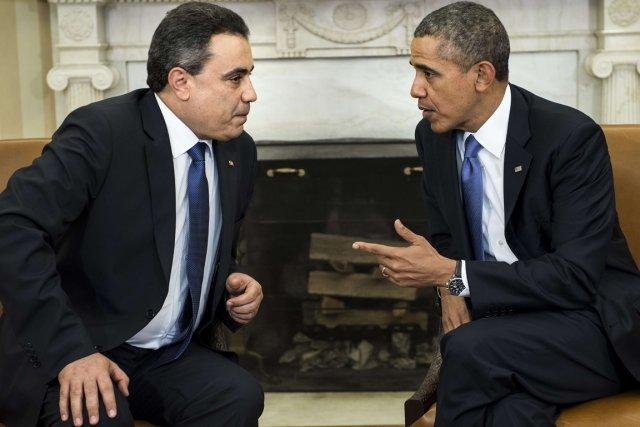 Le président américain Barack Obama a reçu le... (Photo Brendan Smialowski, AFP)