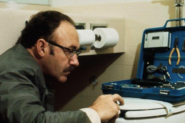 Gene Hackman dansThe Conversation.... (PHOTO TIRÉE DE GOOGLE IMAGES)