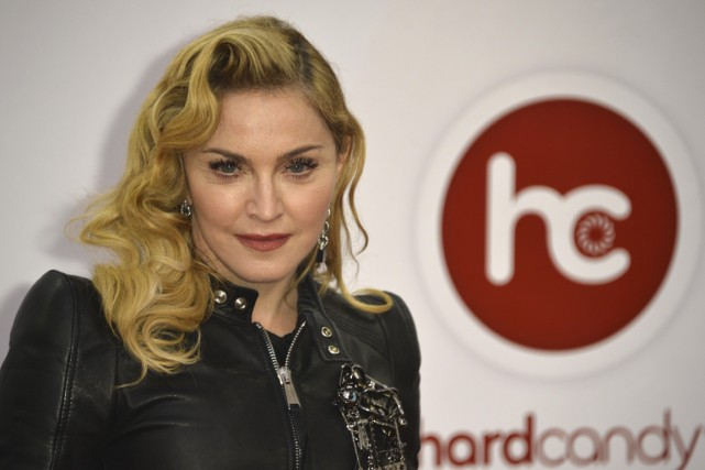 Madonna... (Photo: archives AFP)
