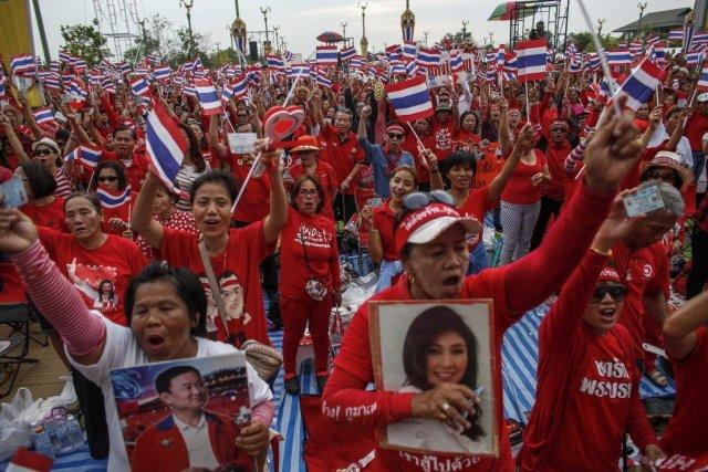 La Thaïlande est touchée depuis cinq mois par... (PHOTO ATHIT PERAWONGMETHA, REUTERS)