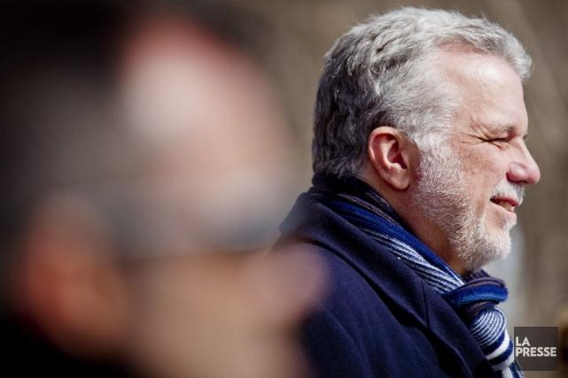 PhilippeCouillard propose de «mieux gérer» les finances publiques,... (PHOTO MARCO CAMPANOZZI, LA PRESSE)