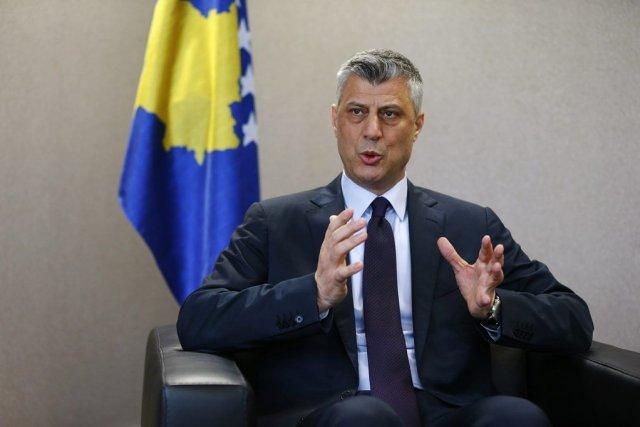Le premier ministre du Kosovo,Hashim Thaçi, a vivement... (PHOTO HAZIR REKA, REUTERS)