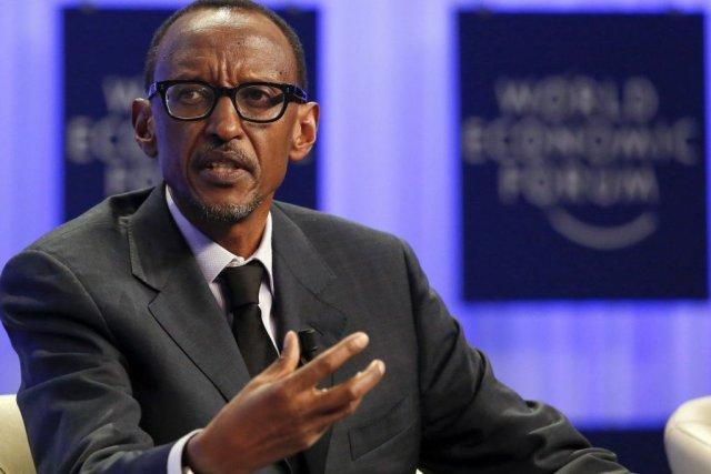 Dans une récente interview, le président rwandais Paul... (PHOTO RUBEN SPRICH, REUTERS)