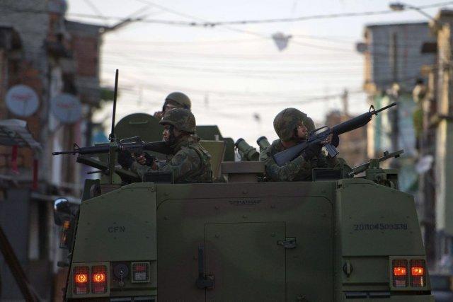L'opération destinée à «pacifier» la zone en vue... (PHOTO CHRISTOPHE SIMON, AFP)
