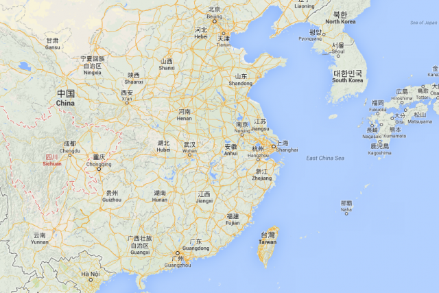 Le Sichuan, l'une des provinces les plus peuplées... (Photo Google Maps)