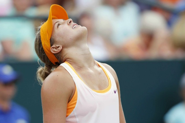 Eugenie Bouchard... (Photo archives AP)