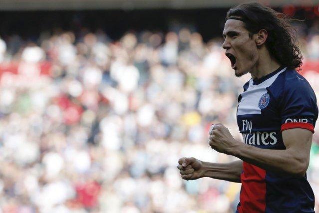 Le PSG a ouvert le score (43e) par... (Photo: AFP)