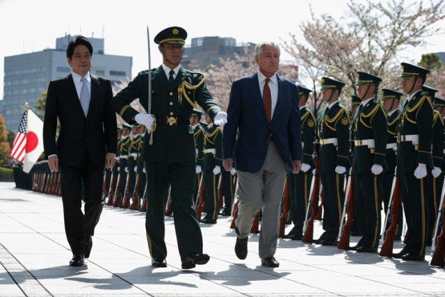Le secrétaire américain de la Défense Chuck Hagel... (Photo: AP)