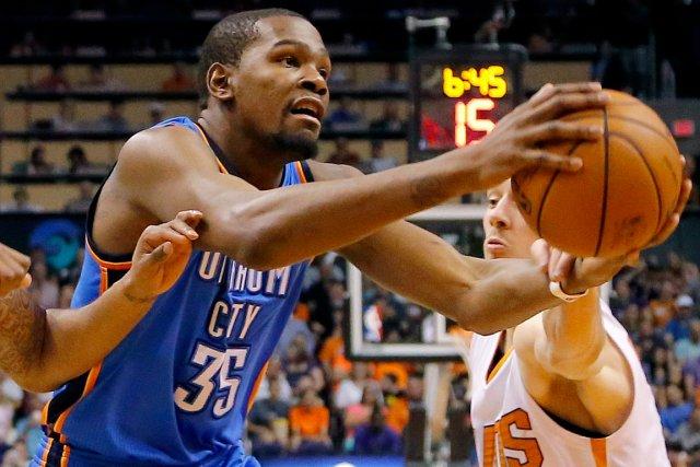 Kevin Durant... (Photo Matt York, AP)