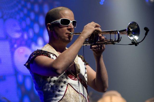 Carl Paradis et sa trompette ne faisaient qu'un.... (PHOTO FOURNIE PAR JEAN LABELLE)