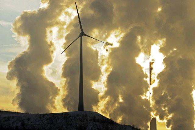 C'est fait: les derniers chiffres montrent que le Québec a réduit ses émissions... (PHOTO MARTIN MEISSNER, ARCHIVES AP)