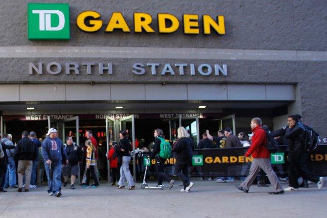 Le TD Garden de Boston, domicile des Bruins dans la LNH et des Celtics dans la... (Photo Jessica Rinaldi, archives AP)