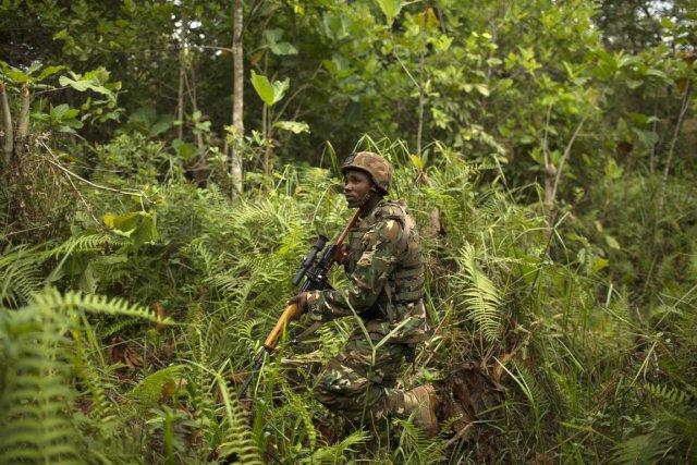 Un soldat de l'Union africaine dans une précédente... (Photo archives AFP)