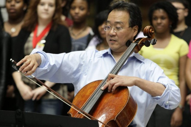 Le violoncelliste Yo-Yo Ma... (Photo archives AP)