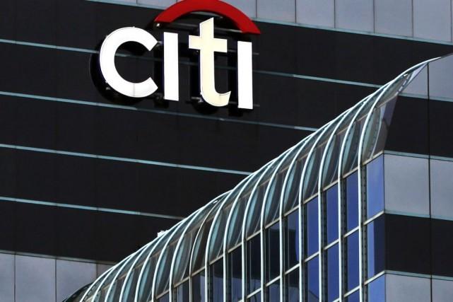 La banque américaine Citigroup (C) a annoncé lundi avoir... (Photo Kiichiro Sato, archives AP)
