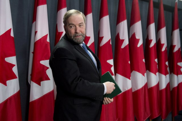 Le chef du NPD, Thomas Mulcair, a déjà... (Photo: PC)