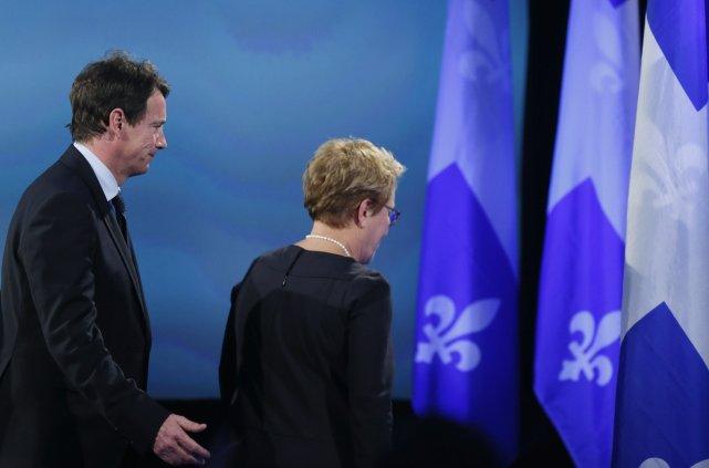 Pauline Marois, en jouant de façon scandaleuse sur... (Photo Christinne Muschi, Reuters)