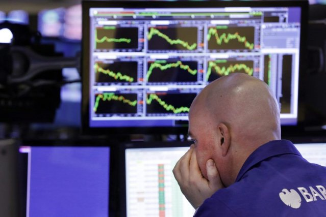L'indice du marché électronique NASDAQ, où se concentrent... (PHOTO RICHARD DREW, AP)