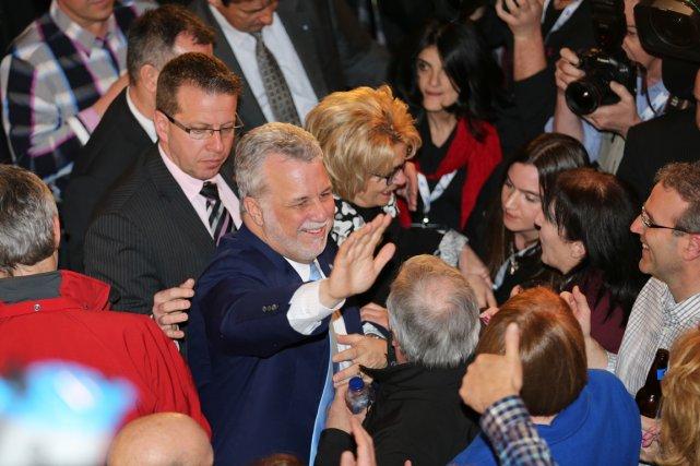 Le nouveau premier ministre du Québec Philippe Couillard... (Photo André Pichette, La Presse)