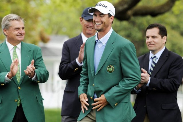 Adam Scott... (Photo AP)