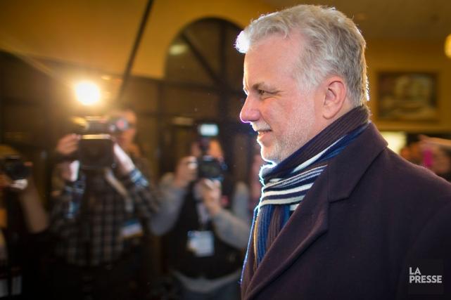 Le nouveau premier ministre du Québec, Philippe Couillard.... (Photo André Pichette, La Presse)